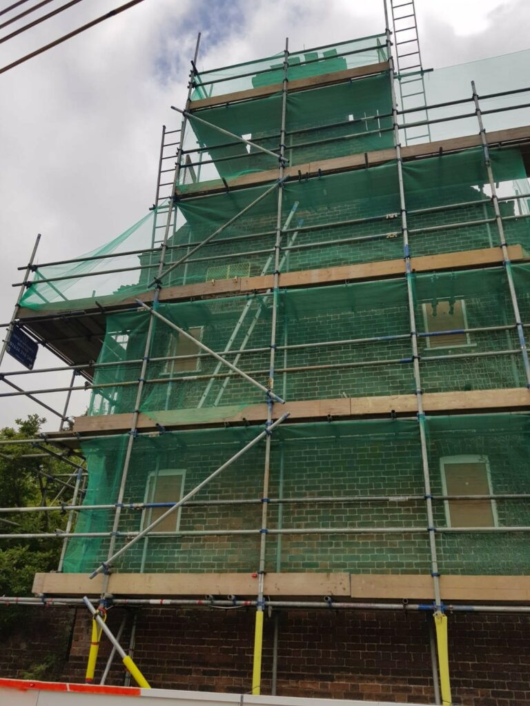 Scaffolding in Faversham